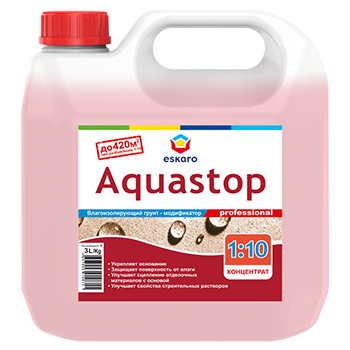 Грунт концентрат Aquastop 1:10 professional 3.0 л.