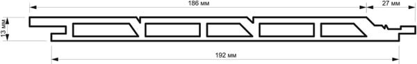 Характеристики фасадной доски TardeX