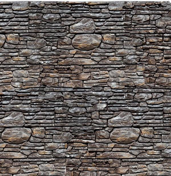 Плитка декоративный камень БАСТИОН ШОКОЛАД