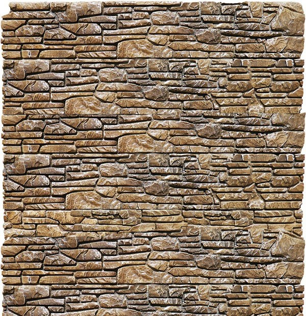 Декоративная плитка из гипса Коллекция «Черный Бастион»