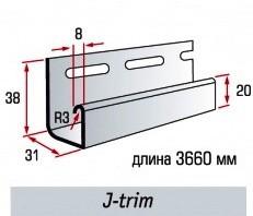 J-Trim планка «Альта-Сайдинг Украина»