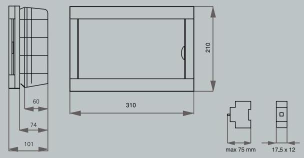 Коробок ViKO под 12 автоматов